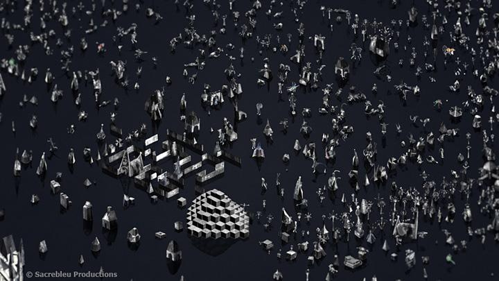 『第19回文化庁メディア芸術祭』アニメーション部門大賞『Rhizome』Boris LABBÉ ©Sacrebleu Productions