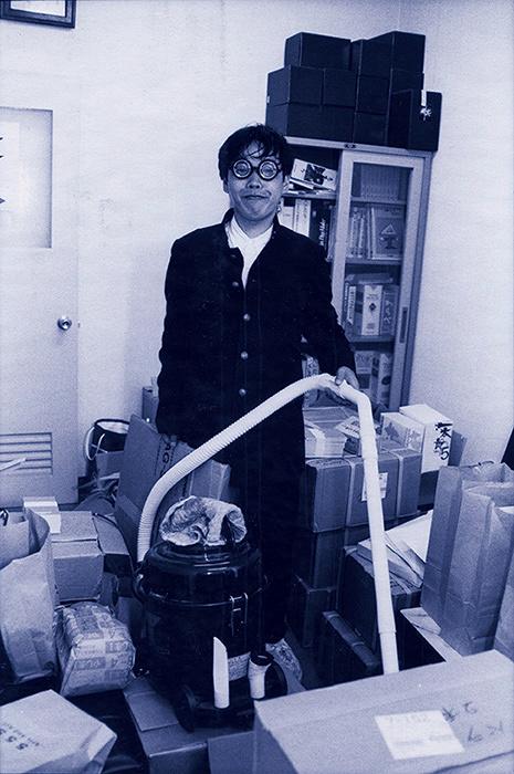 開発好明『不在と存在』1994年 photo by Yasunori Tanioka