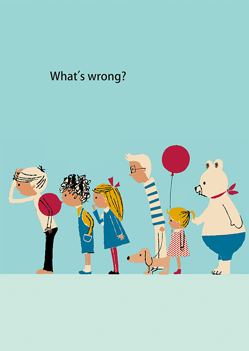 『What's wrong?』Design by ©Shinzi Katoh TM Licensed by Copyrights Asia