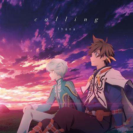 fhána『calling』アニメ盤ジャケット