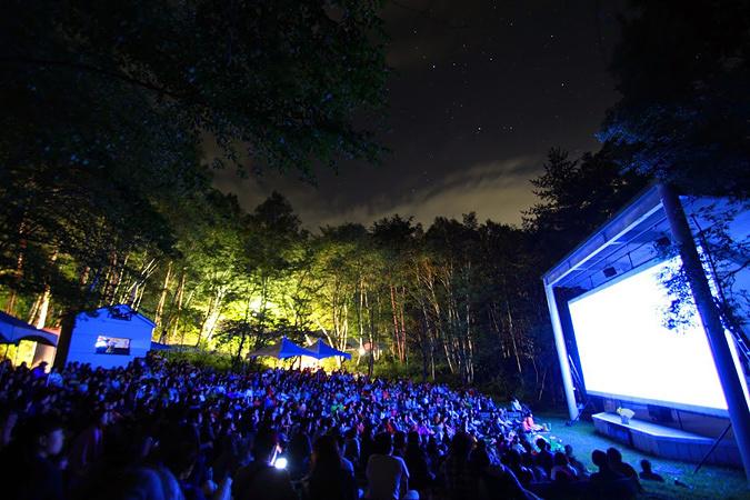 『星空の映画祭』会場風景
