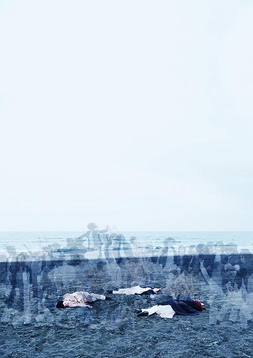 Nibroll『世界は縮んでしまってある事実だけが残る』ビジュアル Photo: Keisuke Takahashi