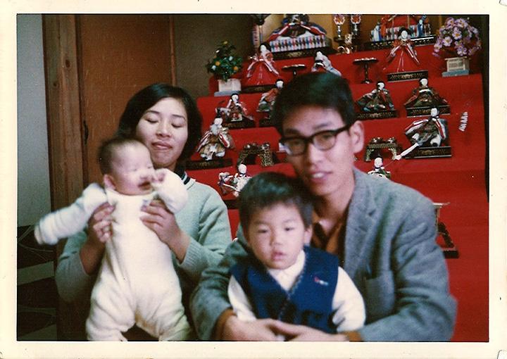伊藤キム、フィジカルシアターカンパニーGERO『家族という名のゲーム』ビジュアル