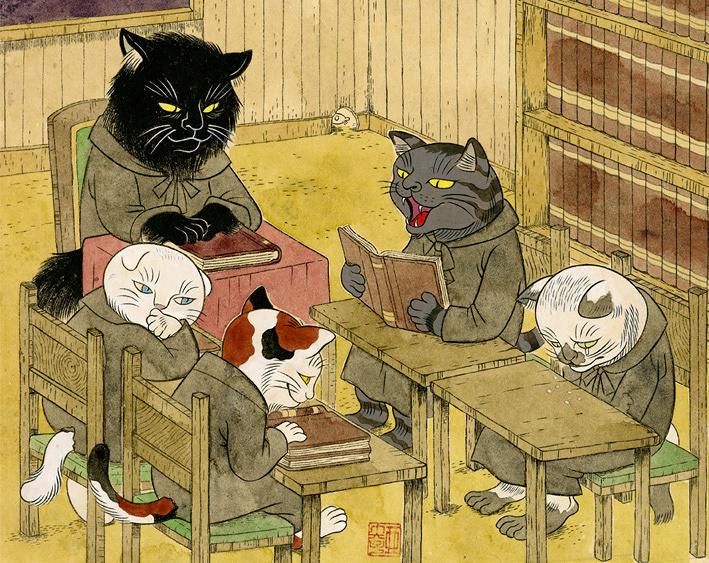 石黒亜矢子『猫の事務所』