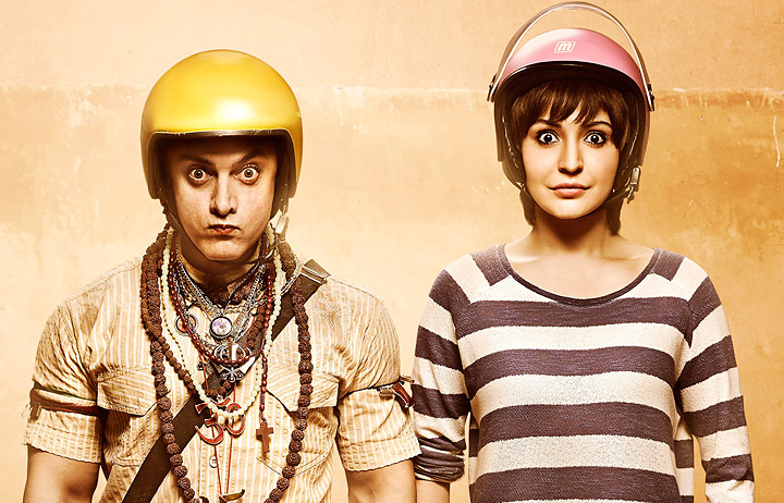 『PK』ポスタービジュアル ©RAJKUMAR HIRANI FILMS PRIVATE LIMITED