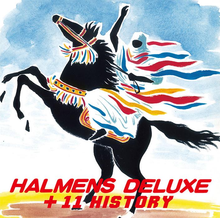 ハルメンズ『ハルメンズ・デラックス+11ヒストリー』ジャケット