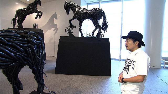 カワヤン・デ・ギアの作品と園子温 『日曜美術館「アートの旅 あいちトリエンナーレ編」』より