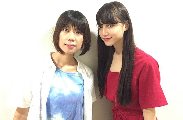 左から加藤綾佳監督、山田愛奈