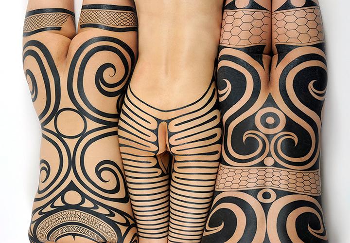 縄文族 jomon tribe 展 謎多き原始日本のタトゥーを 復興 アート