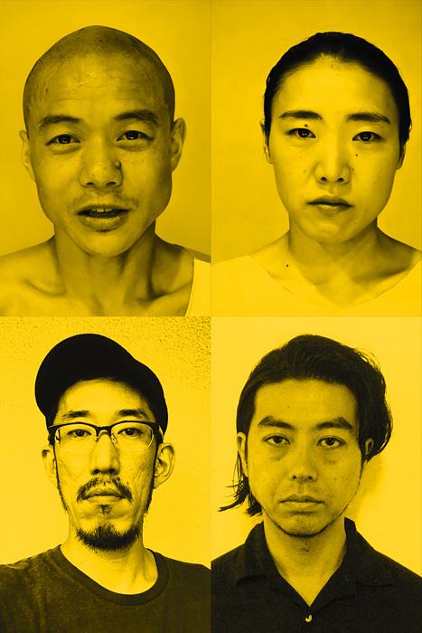 上段左から時計回りに松原東洋、長谷川宝子、吉田省念、青山健一