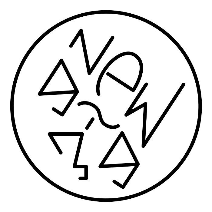 『New gig 3』展ロゴ