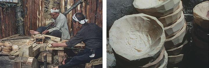 『奥会津の木地師』