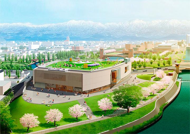 富山県美術館イメージビジュアル