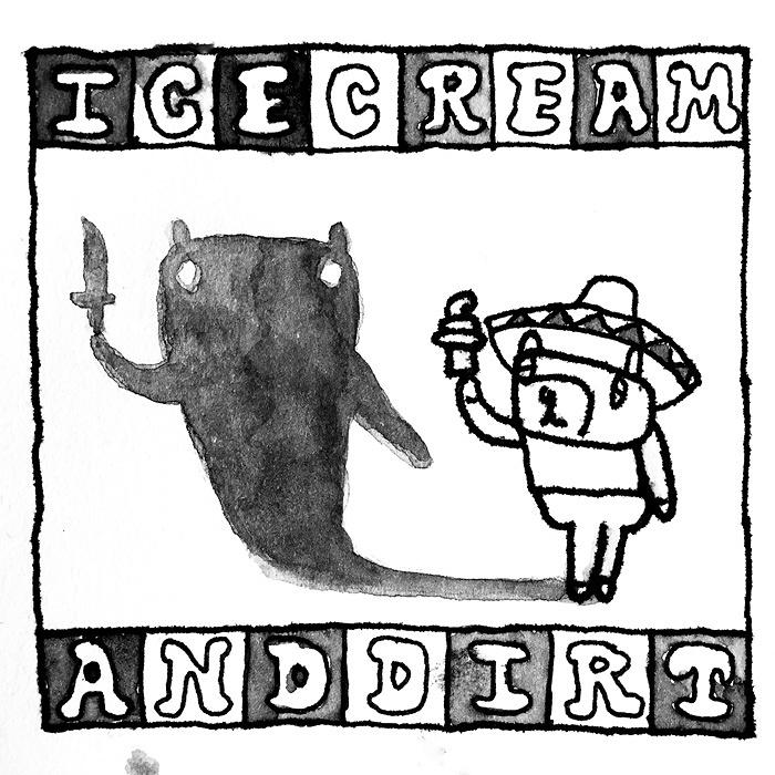 ズボンズ『Ice Cream & Dirt』ジャケット