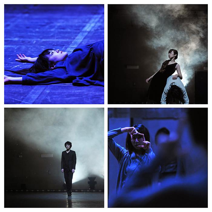 大橋可也&ダンサーズ過去作品より 上段左から時計回りに山本晴歌、平多理恵子、伊藤雅子、皆木正純 photo:GO