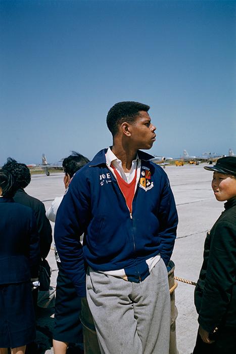 澤田教一作品 米軍三沢基地内 1958年