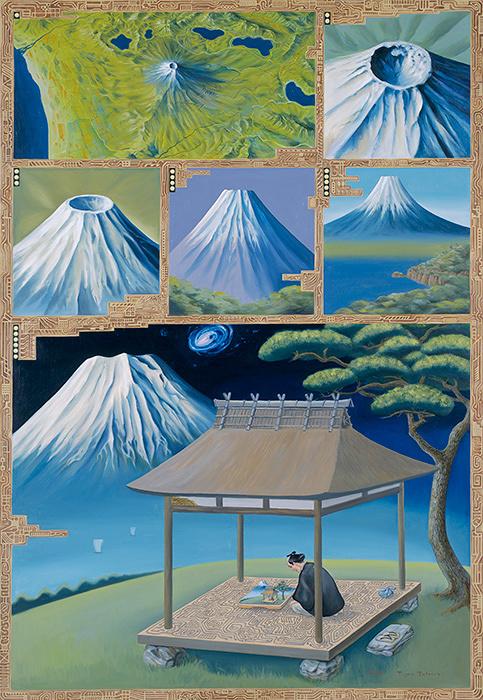 立石大河亞『ミクロ富士』 1984年 森美術館蔵 ©Tiger TATEISHI