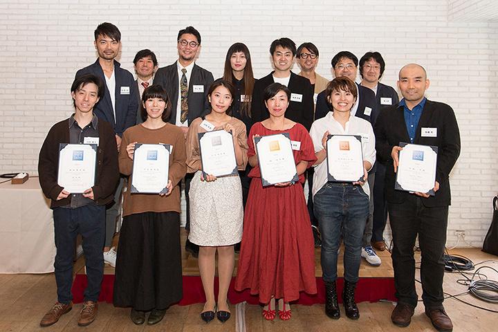 『LUMINE meets ART AWARD 2016』受賞者と審査員