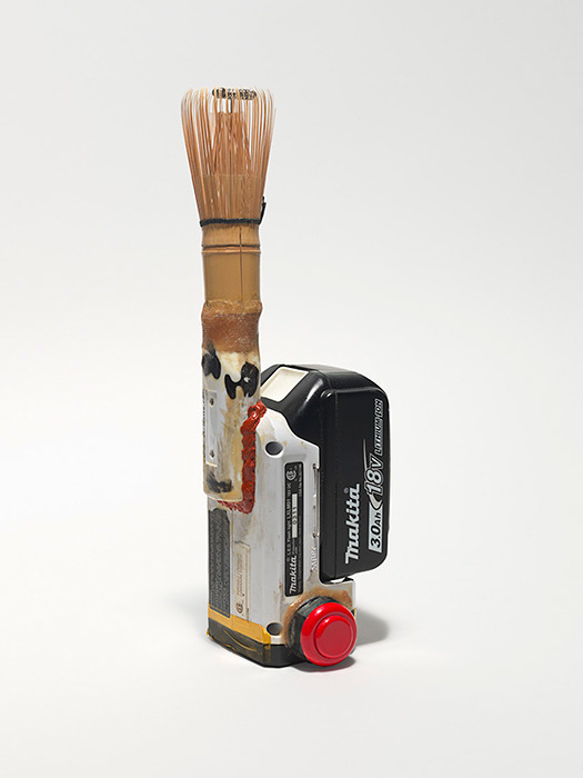 Chasen, 2015, Bamboo and mixed media h.28.6×w.9.5×d.9.5cm ©Tom Sachs