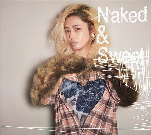 Chara『Naked & Sweet』通常盤ジャケット