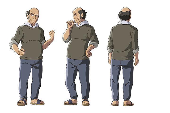 石橋健太郎キャラクタービジュアル ©mixi,Inc. All rights reserved.
