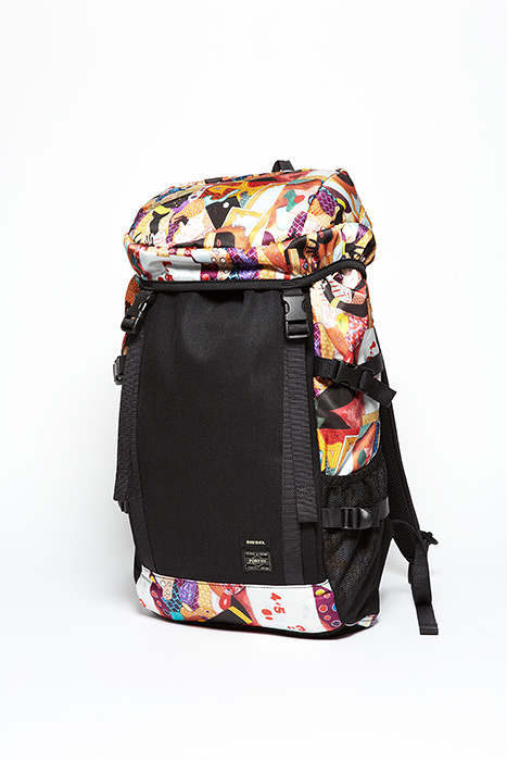 「DIESEL×PORTER ARTWORK by TADANORI YOKOO」BACK PACK