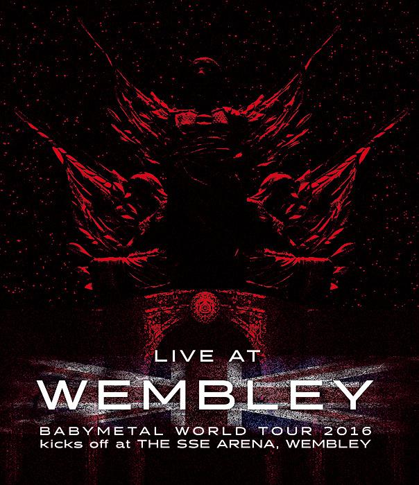 BABYMETAL『LIVE AT WEMBLEY』Blu-rayジャケット