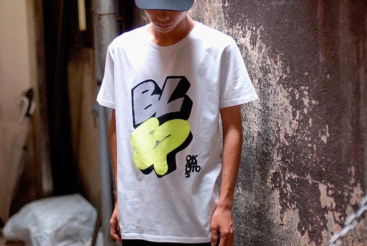 OKAMOTO'S『BL-EP』Tシャツイメージビジュアル