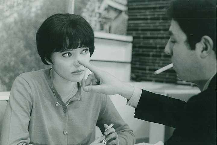 『女と男のいる舗道』 ©1962.LES FILMS DE LA PLEIADE .Paris