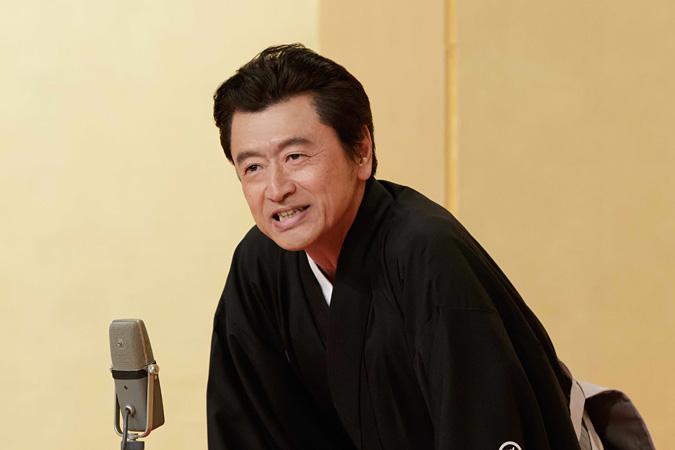 落語を披露する桑田佳祐 『SONGS』より