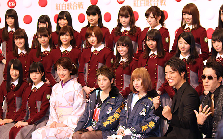 『第67回NHK紅白歌合戦』出場歌手発表会見より