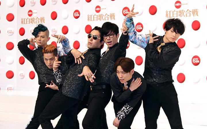 RADIO FISH 『第67回NHK紅白歌合戦』出場歌手発表会見より