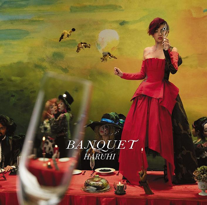 HARUHI『BANQUET』通常盤ジャケット