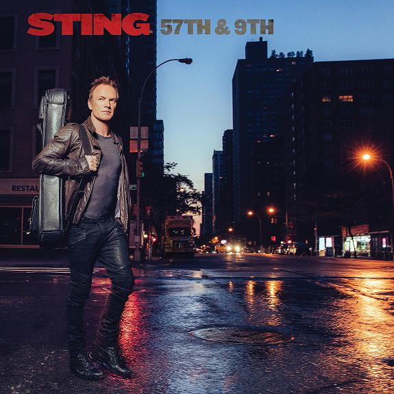 STING『57th & 9th』ジャケット