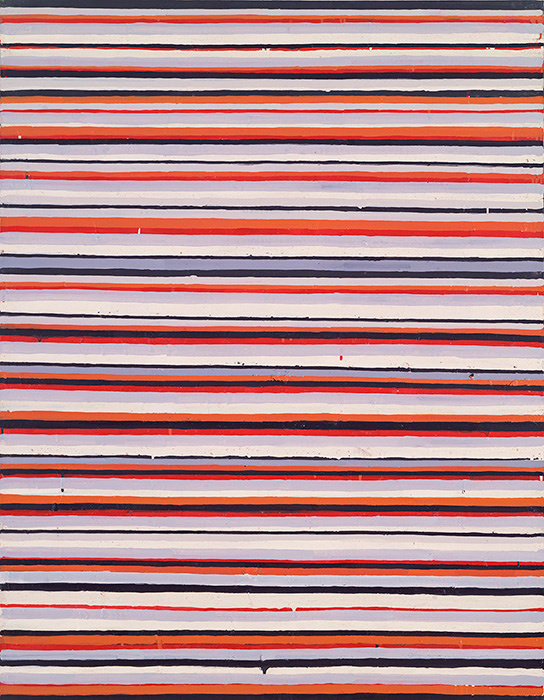 『Work C.92』1961-62年 油彩・キャンバス 117×91cm 横浜美術館蔵
