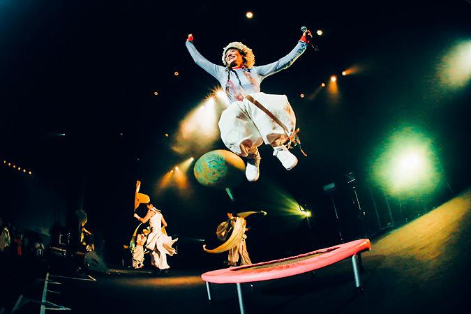 水曜日のカンパネラ 12月7日に東京・中野サンプラザで行なわれたライブの模様 PHOTO BY 横山マサト
