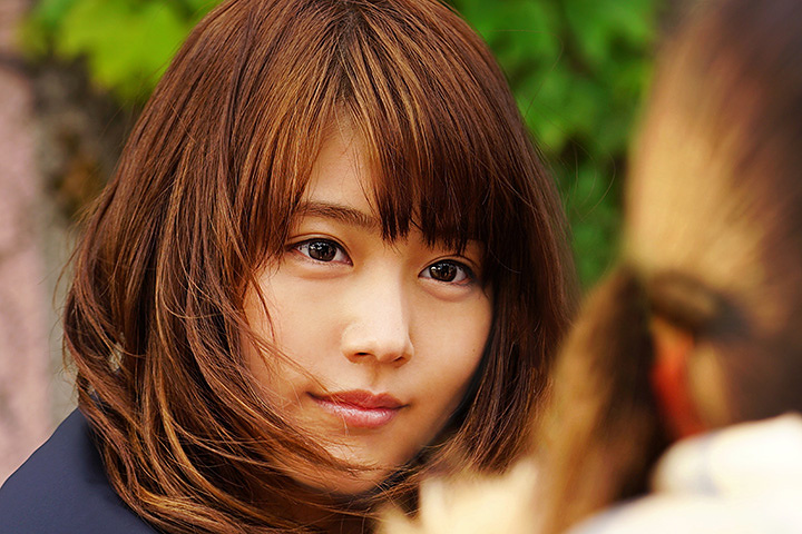 幸田香子役の有村架純 ©2017 映画「3月のライオン」製作委員会