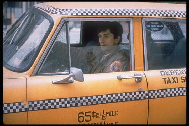『タクシードライバー』 ©1976, renewed 2004 Columbia Pictures Industries,  Inc. All Rights Reserved.