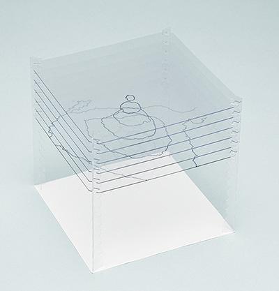 『DEDEkit ~考え方のワークショップ~』【02 レイヤーの彫刻】イメージビジュアル