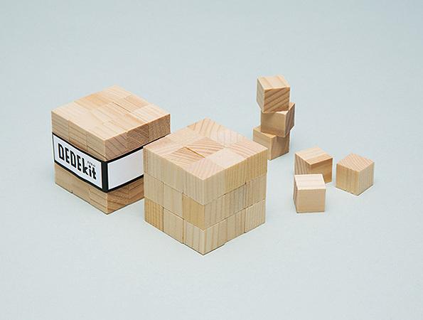 『DEDEkit ~考え方のワークショップ~』【03 3x3x3立体パズル】イメージビジュアル