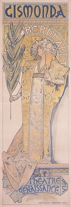 アルフォンス・ミュシャ『ジスモンダ』1895年 堺市