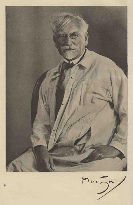 アルフォンス・ミュシャ 1928年