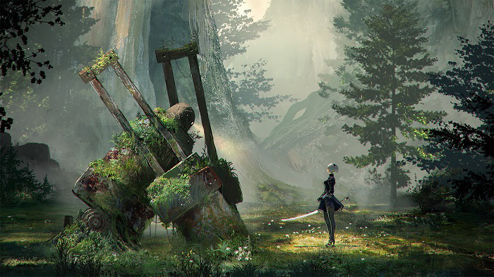 『NieR:Automata』ビジュアル ©2016 SQUARE ENIX CO., LTD. All Rights Reserved.