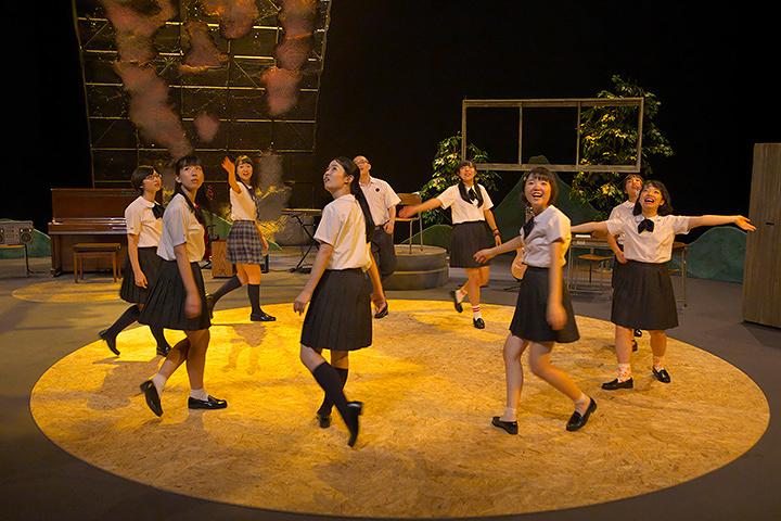 ままごと『わたしの星』初演時公演風景 撮影:青木司