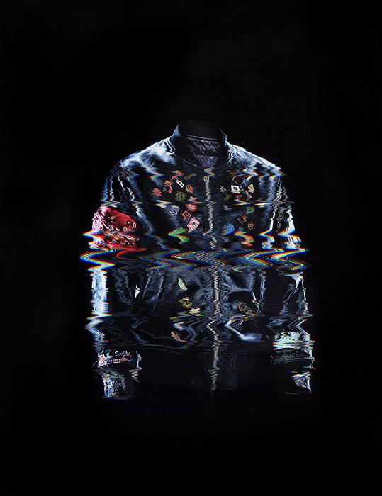 『WEARABLE ONE OK ROCK』MA-1ジャケットイメージビジュアル