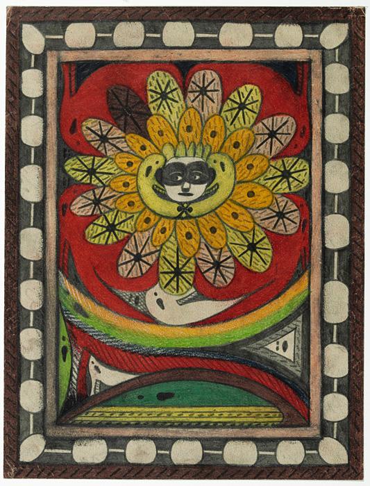 『聖アドルフ=王座=アルニカ』1917年 ベルン美術館 アドルフ・ヴェルフリ財団蔵  ©Adolf Wölfli Foundation, Museum of Fine Arts Bern
