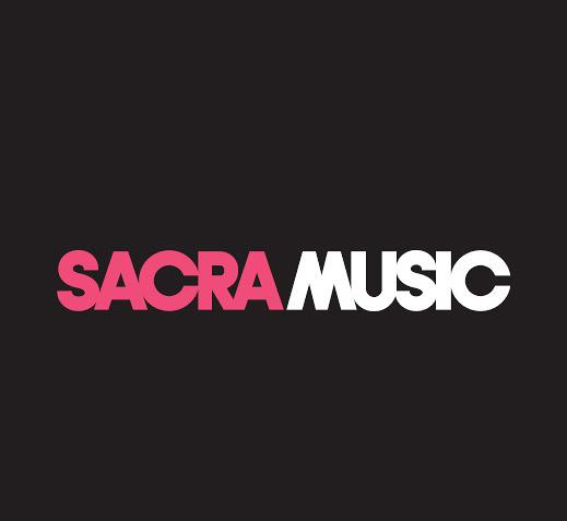「SACRA MUSIC」ロゴ