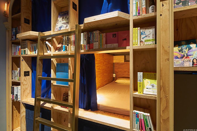 BOOK AND BED TOKYO 京都店イメージビジュアル ©R-STORE 2016
