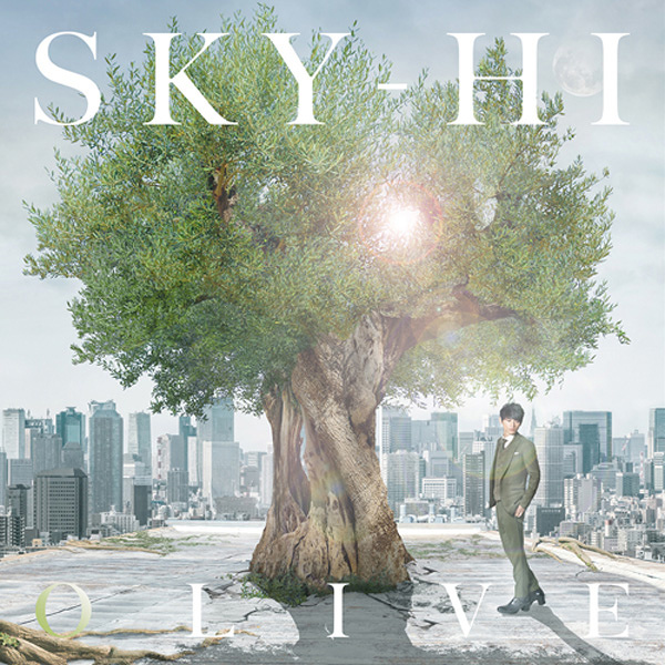 SKY-HI『OLIVE』Live盤ジャケット