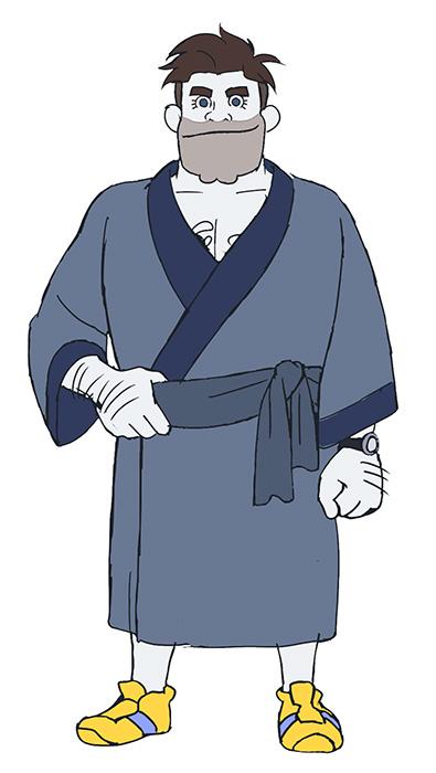 パンツ総番長キャラクタービジュアル ©森見登美彦・KADOKAWA/ナカメの会